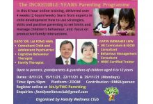 Photo of FWC: The INCREDIBLE YEARS Parenting Programme