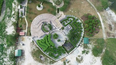 Photo of First Maze Garden in Malaysia is in Perak