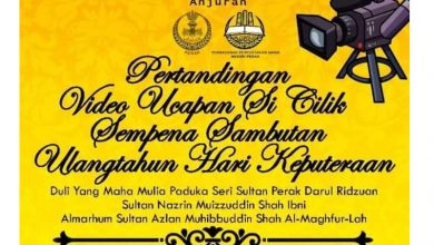 Photo of Speech Contest for Children in Conjunction with the Birthday of the Sultan of Perak