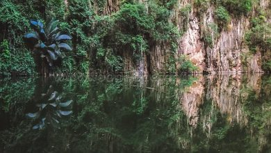 Photo of Hidden Lake not so Hidden Anymore