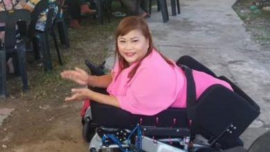 Photo of Appeal for Donations for a Lifting Electric Wheelchair