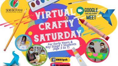 Photo of SBIS: Virtual Crafty Saturday (30 Oct 2021)