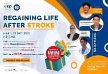 Photo of Alpro Virtual Health Talk: Regaining Life After Stroke (2 Oct 2021)